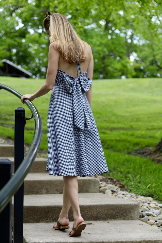 gilt edge | backless bow