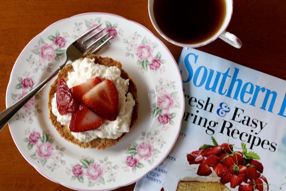 gilt edge   mini strawberry tarts