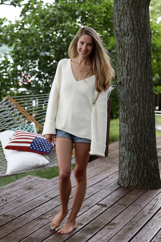 gilt edge | slouchy sweater