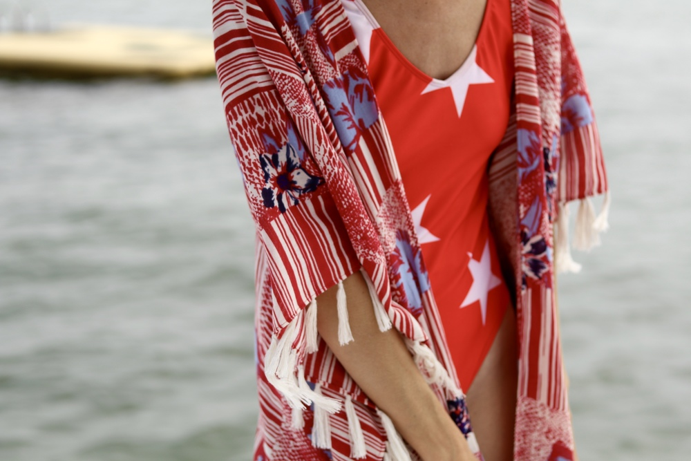 gilt edge | 4th of july kimono && 🇺🇸 jello