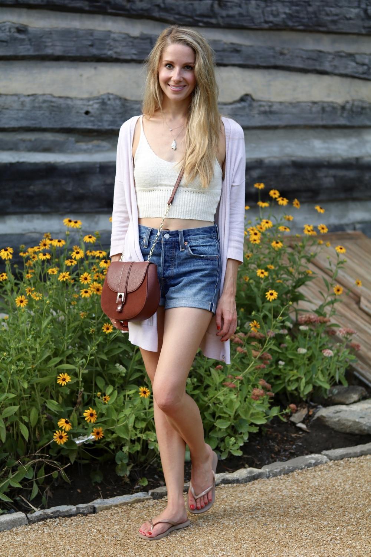 gilt edge | knit crop