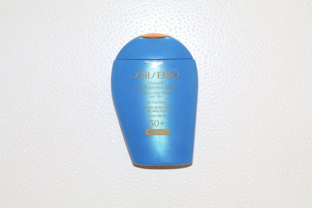 gilt edge | shiseido spf