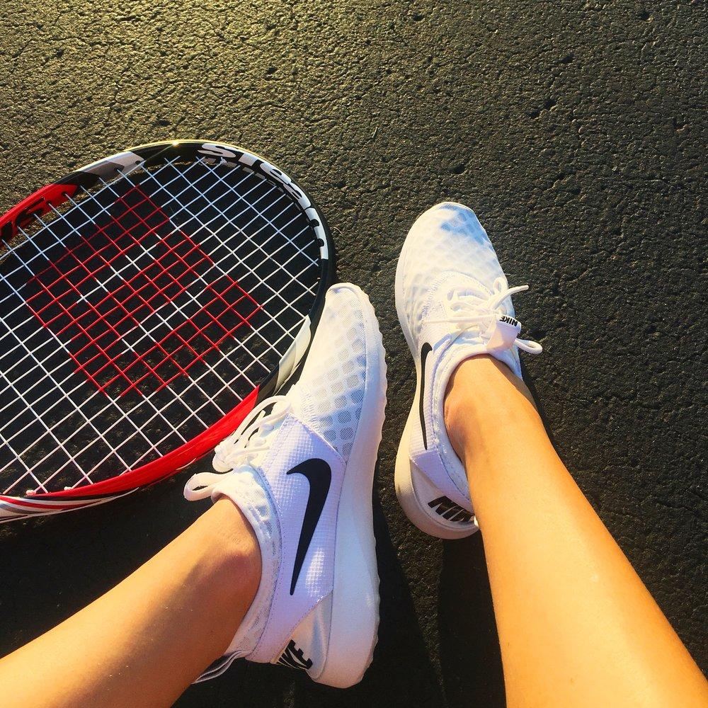 Tennis-ing 🎾 // Nikes