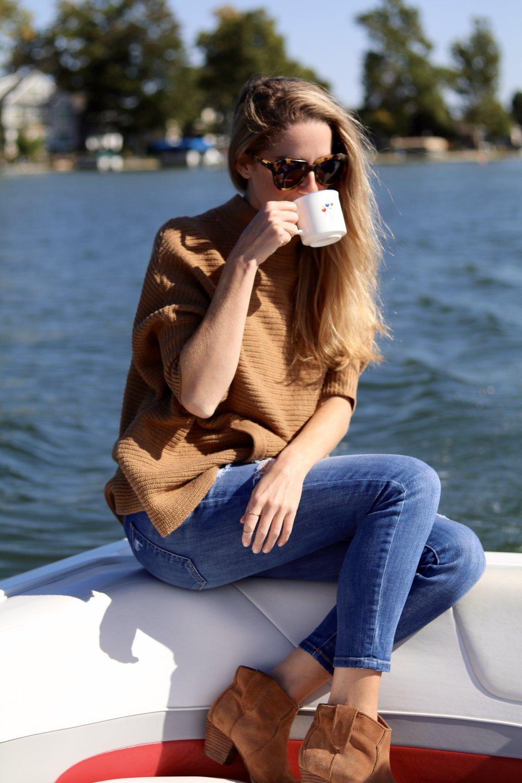 gilt edge | fall boat rides