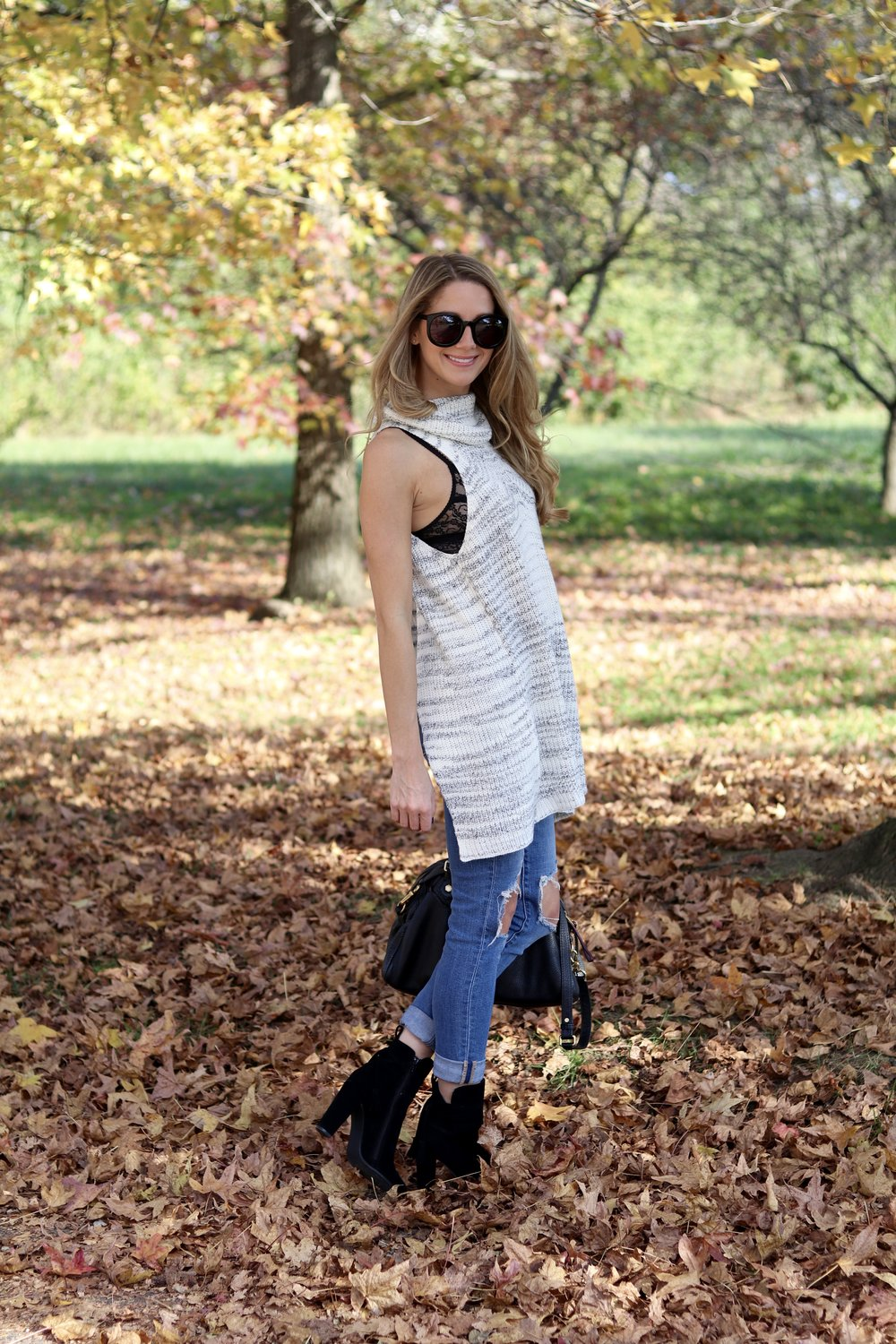 gilt edge | sleeveless sweater weather