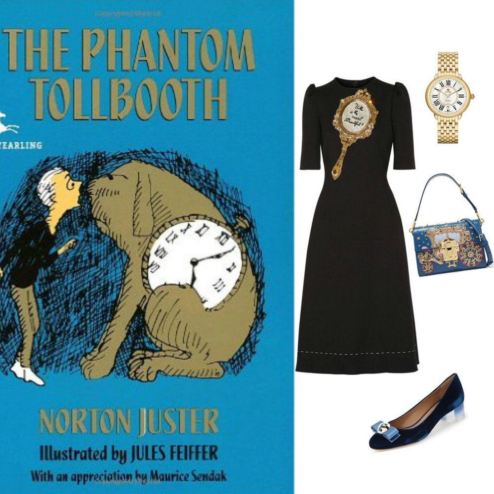 gilt edge | judge a book by its cover :: the phantom tollbooth
