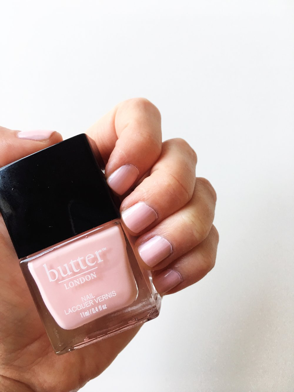 The most perfect pink on the planet 💕 // Butter London in Teddy Girl