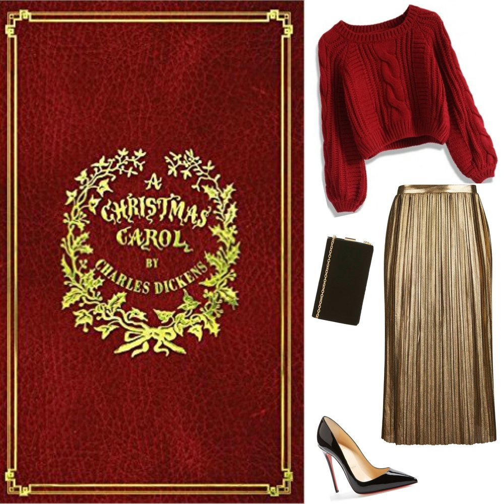 gilt edge | judge a book by its cover :: a christmas carol