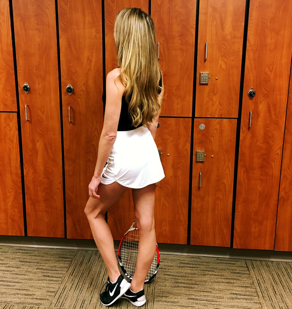 Tennis Tuesdays 🎾 // Skirt, Tennis Shoes