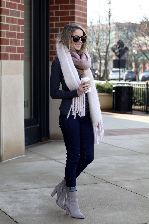 gilt edge | chunky scarf