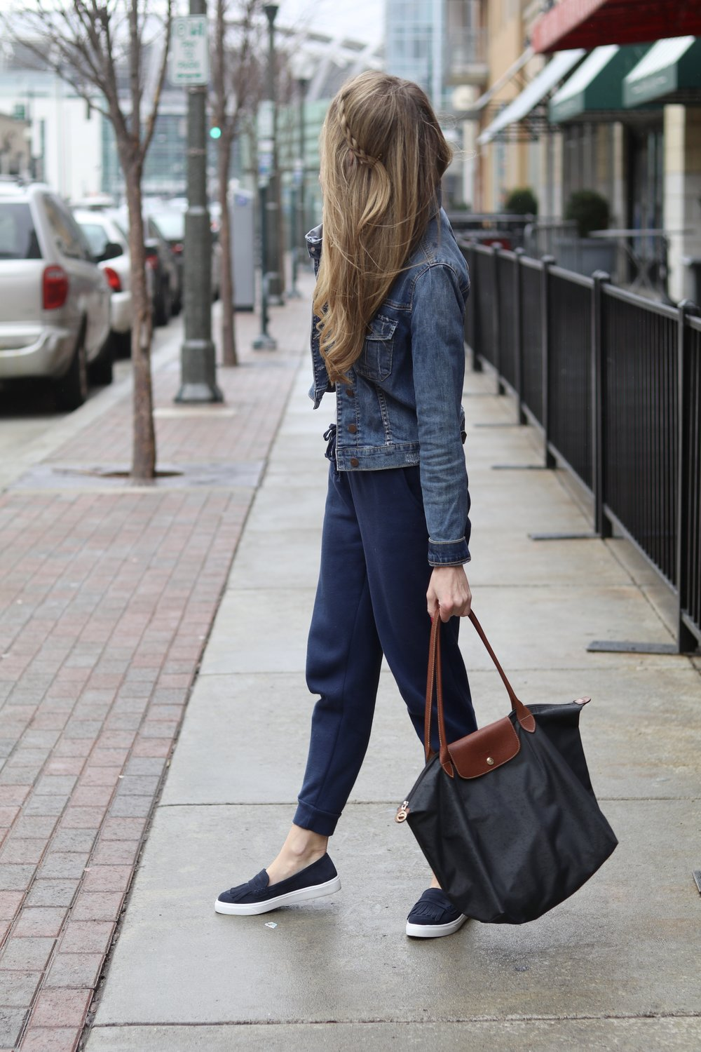 gilt edge | joggers for day