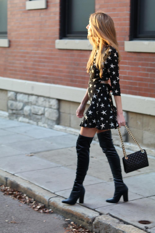 gilt edge | star dress