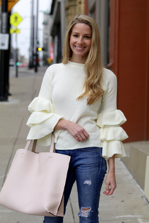 gilt edge   shein sweater