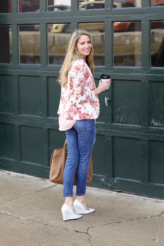 gilt edge | pink blazer