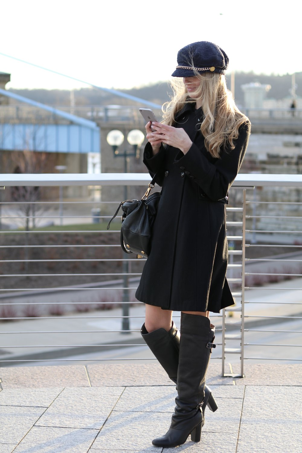 gilt edge | over the knee boots