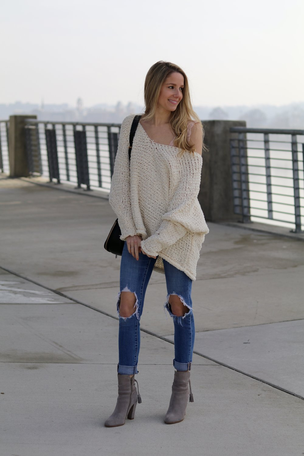 gilt edge | another slouchy sweater