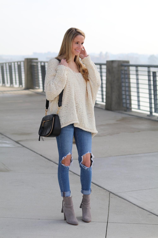 gilt edge | free people sweater