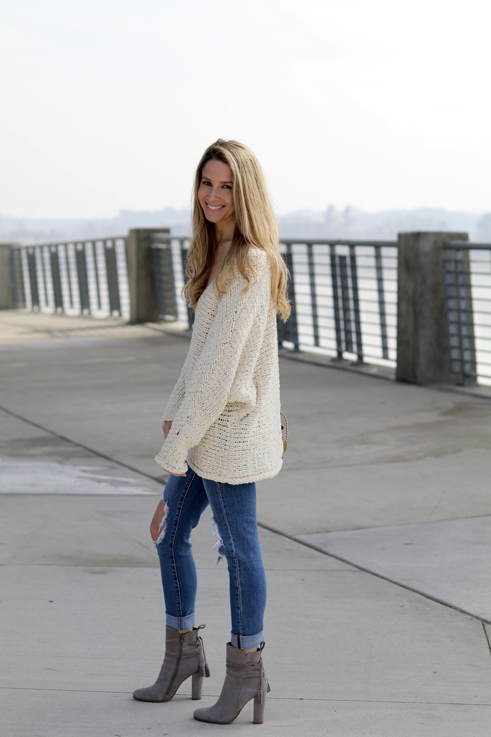 another slouchy sweater