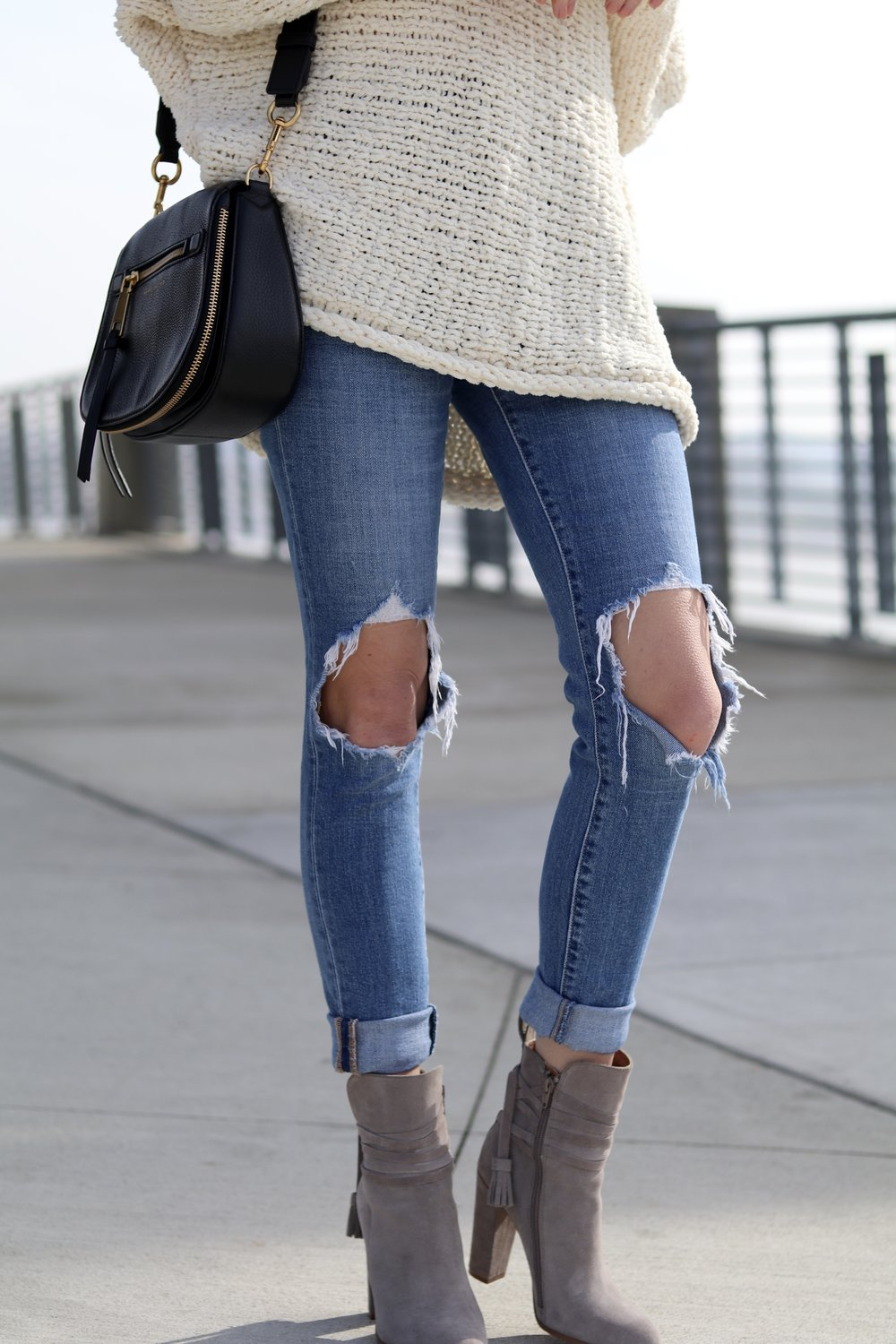 gilt edge | free people knit