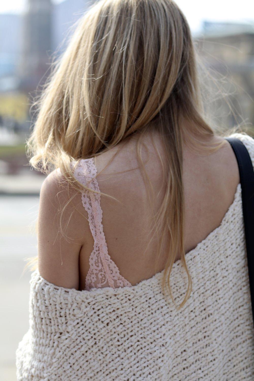 gilt edge | free people sweater & bodysuit