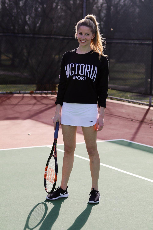 gilt edge | tennis skirt