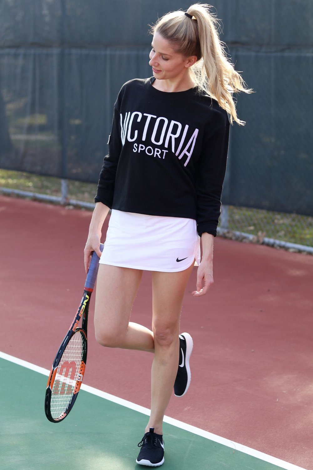 gilt edge | tennis outfit