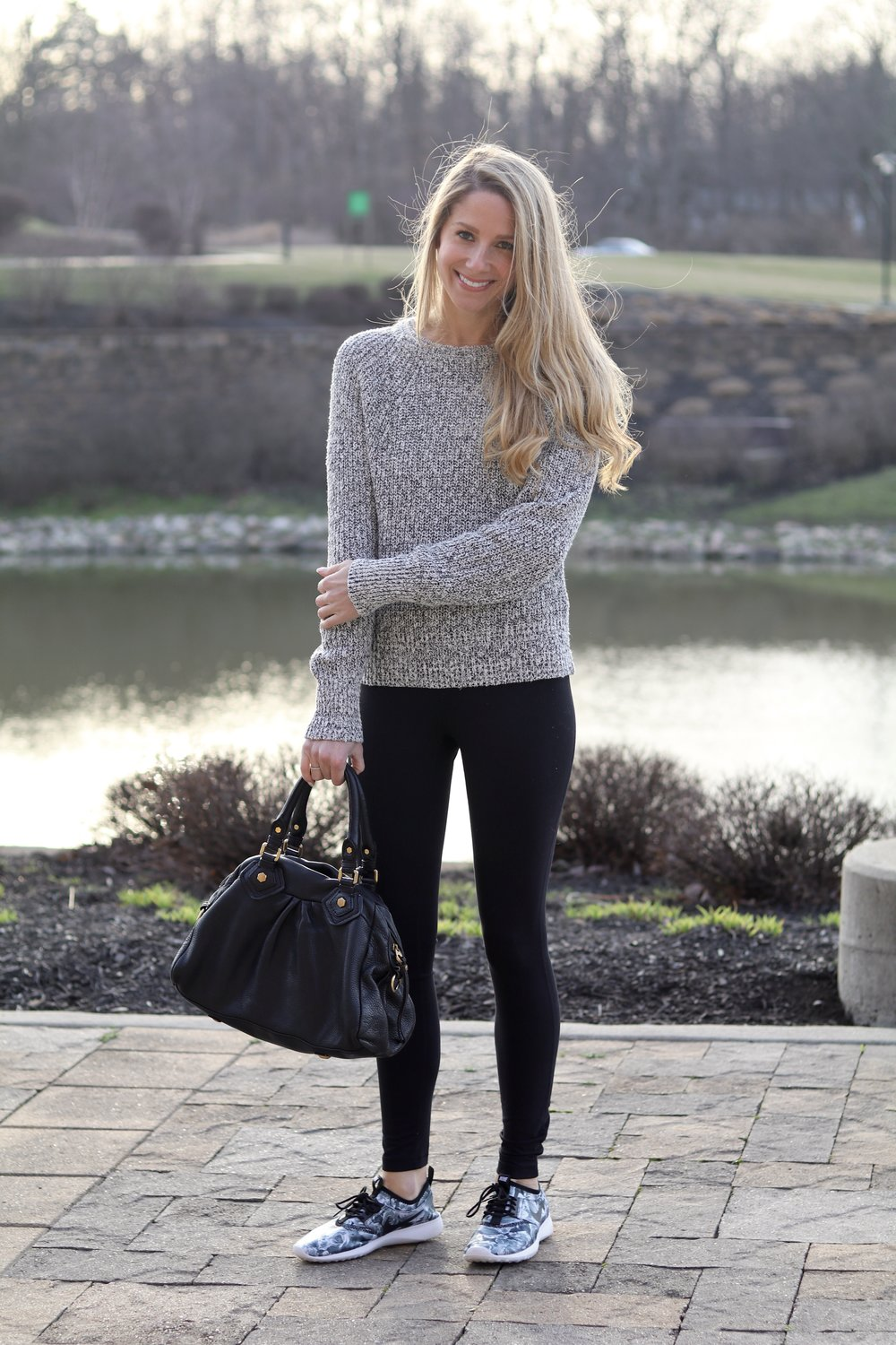 gilt edge | cozy for a workout