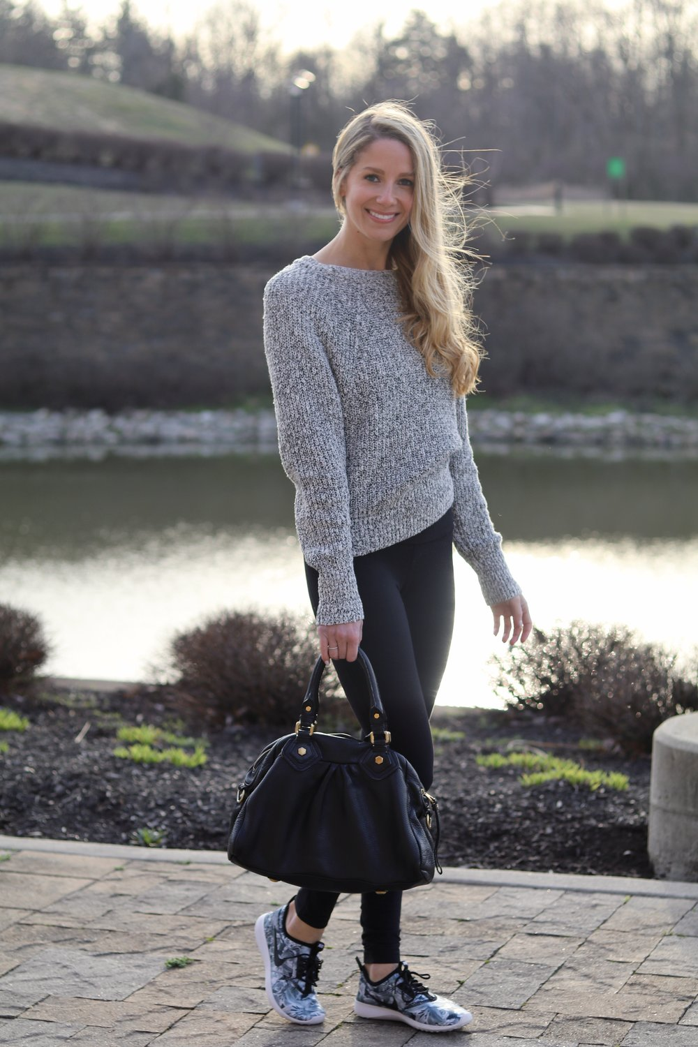 gilt edge | cozy sweater
