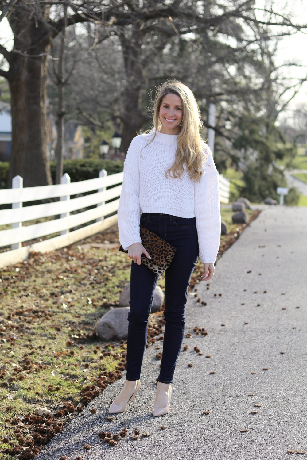 gilt edge | cropped sweater