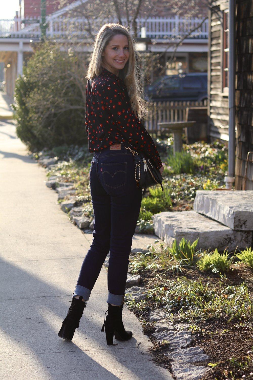 gilt edge | levi 721 jeans