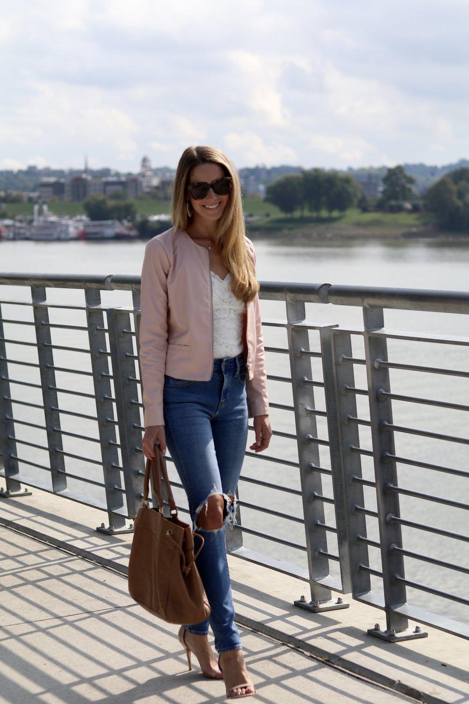 gilt edge | pink jacket