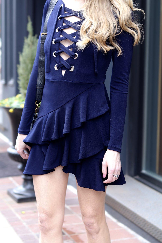 gilt edge | revolve dress