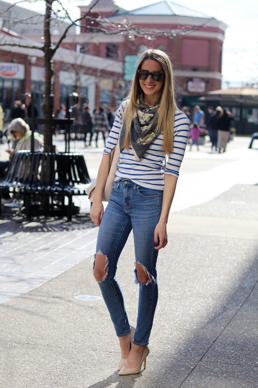 gilt edge | levi's distressed jeans