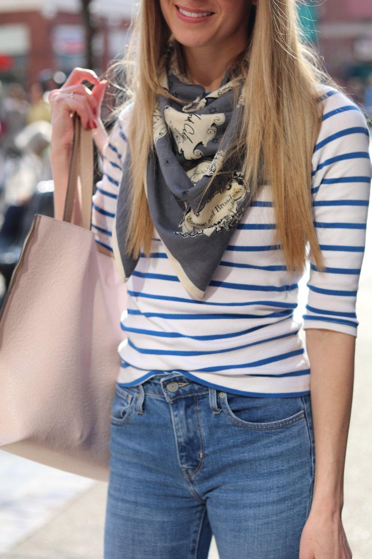 gilt edge | madewell scarf