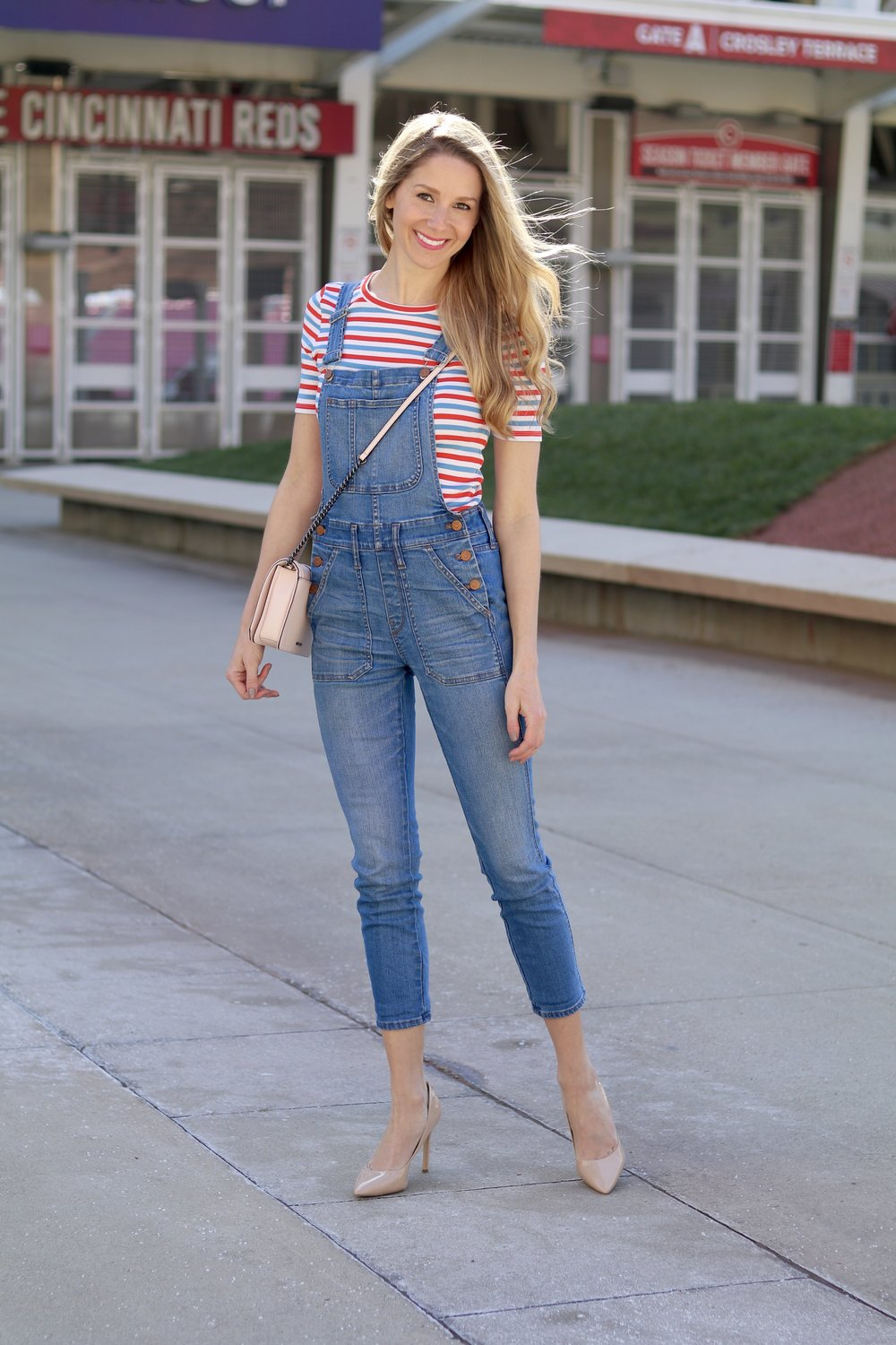 gilt edge | striped j.crew t-shirt