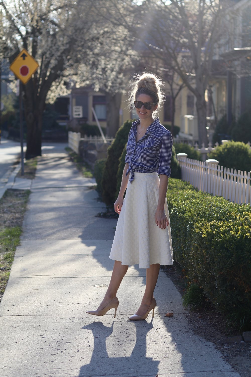 gilt edge | nordstrom midi skirt
