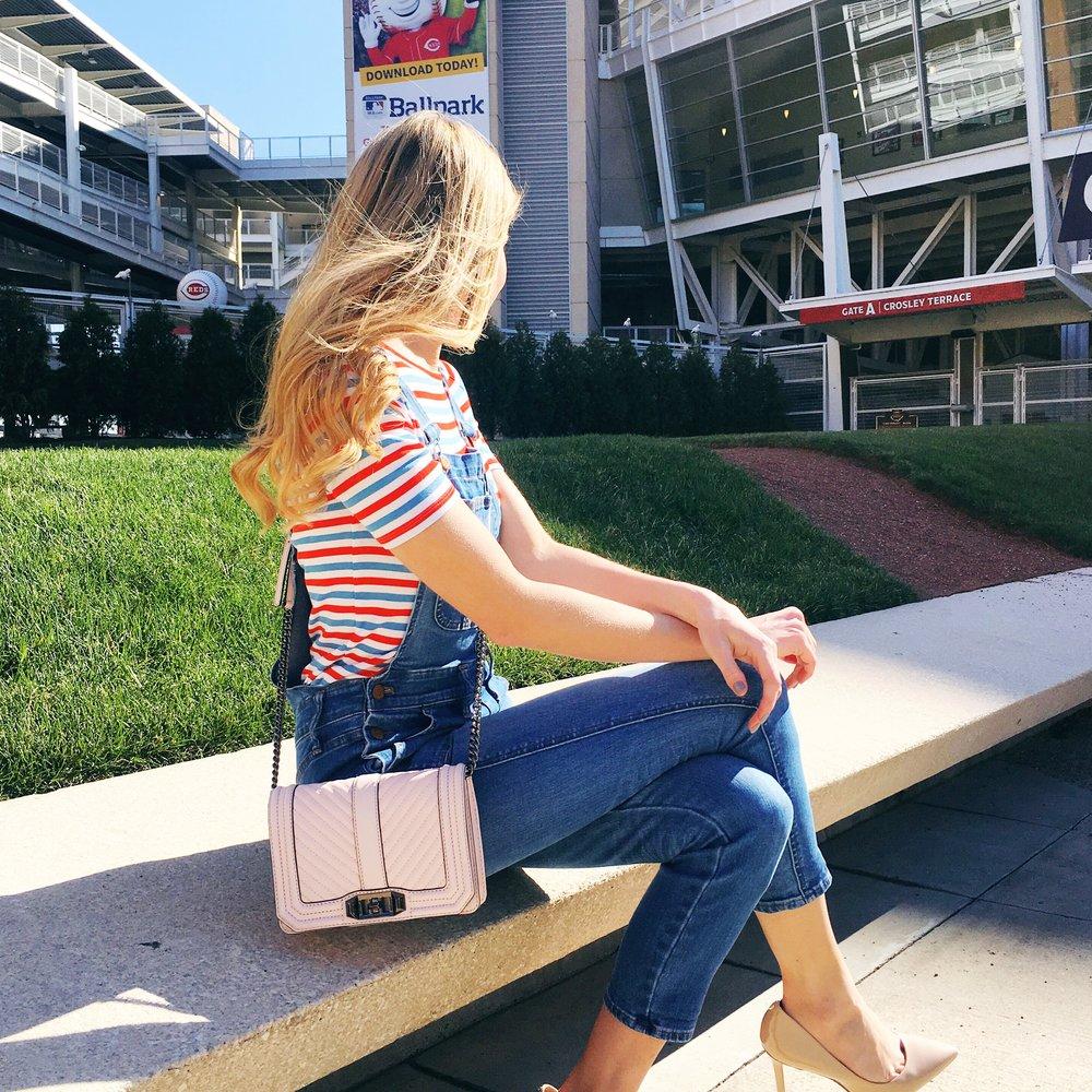 Waiting for baseball season ⚾️ | T-shirt, Overalls, Bag, Shoes | Full post here