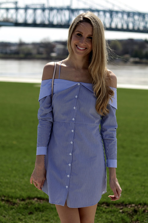 gilt edge | topshop dress via nordstrom