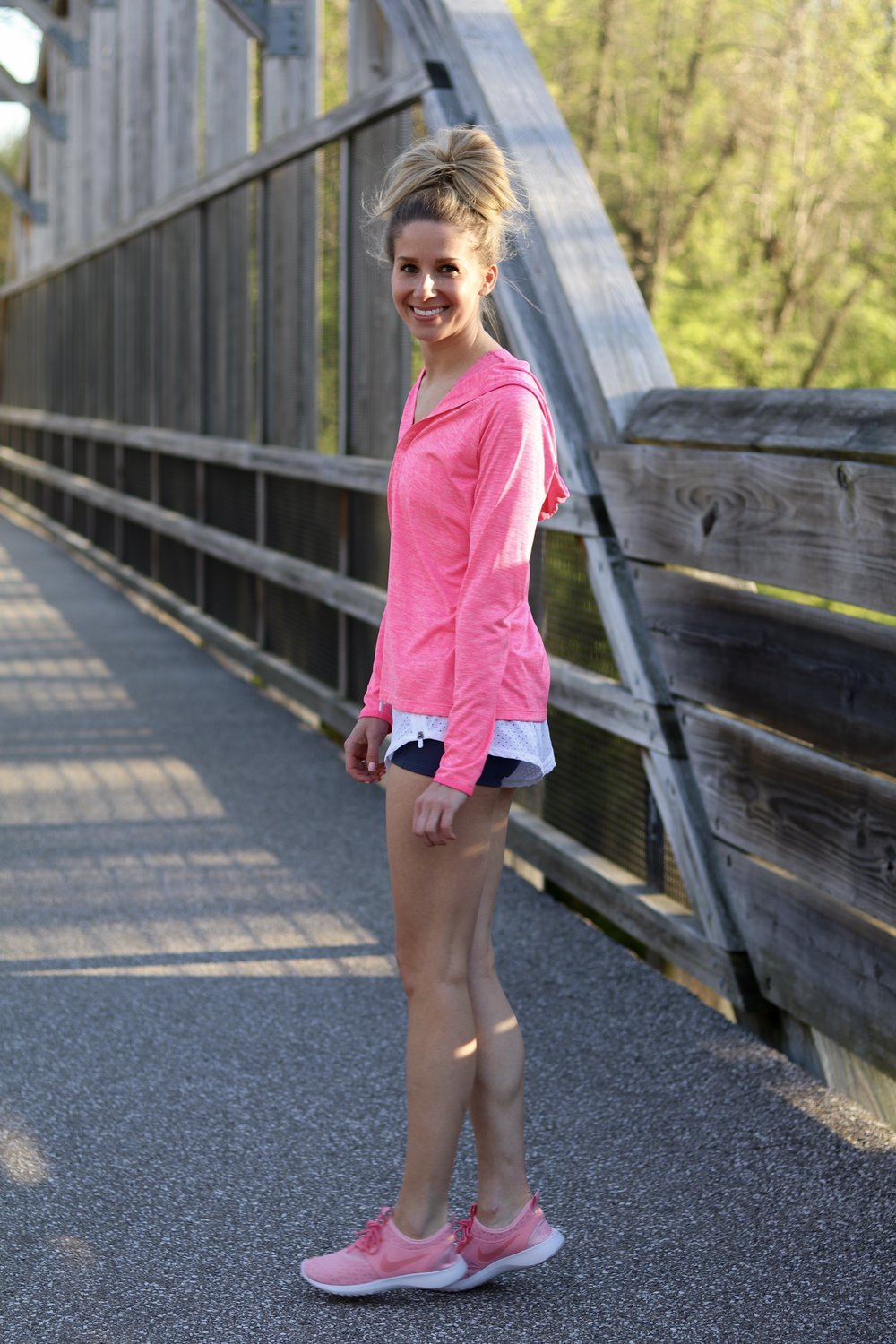 gilt edge | workout outfit