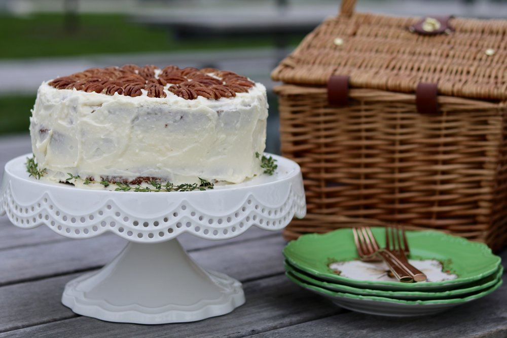 gilt edge | southern living hummingbird cake