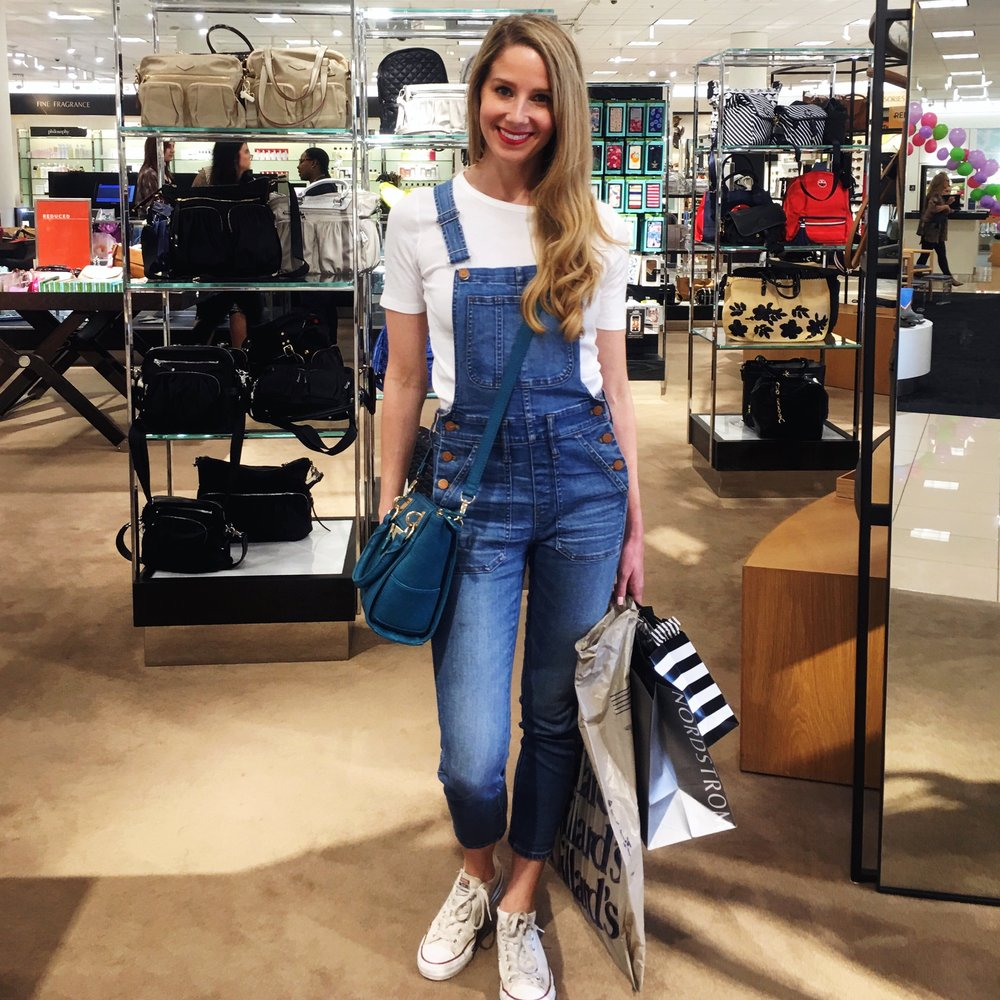 I ❤️ my Madewell overalls (here, here, here)