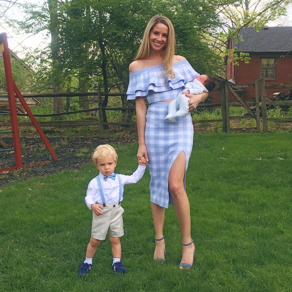 Easter finest with my nephews ❤️ // Outfit post here
