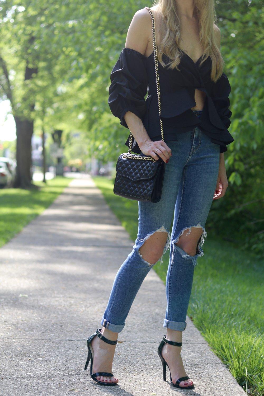 gilt edge | rebecca minkoff bag