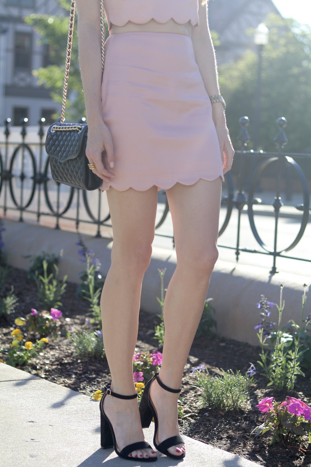 gilt edge | tobi mini skirt