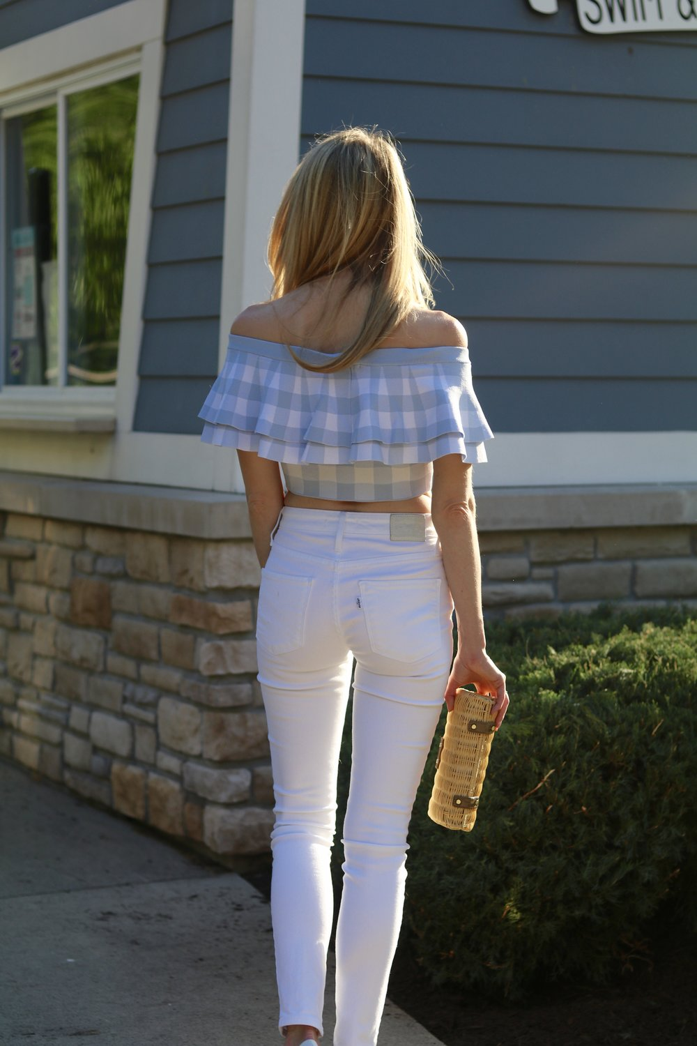 gilt edge | gingham spring fashion