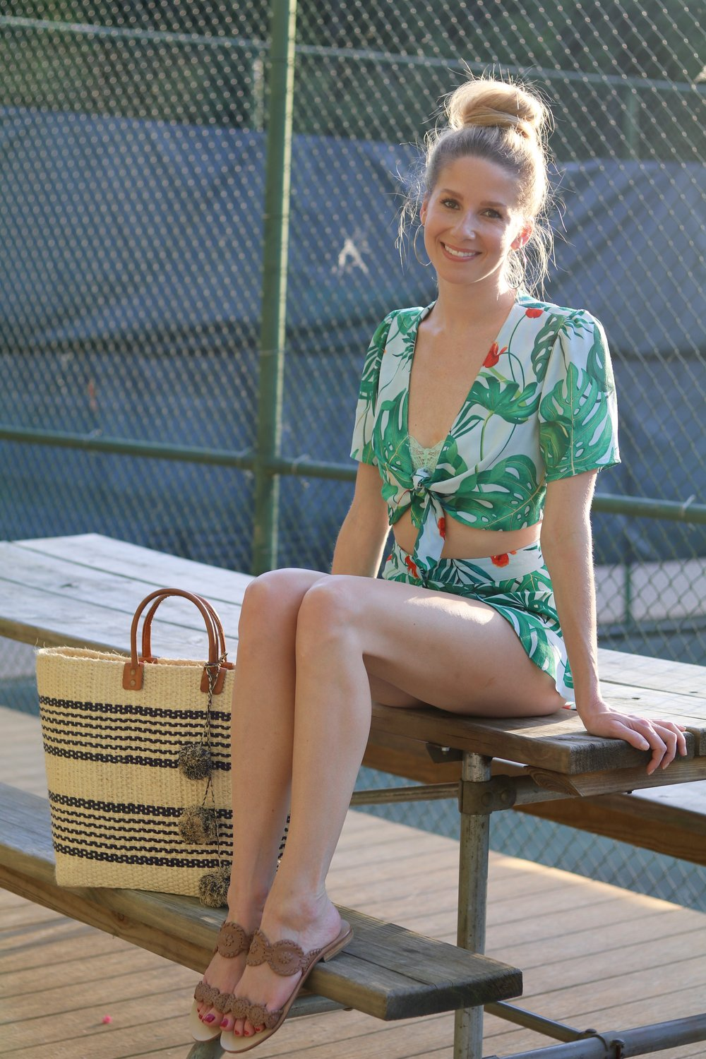 gilt edge | pool outfit of the day