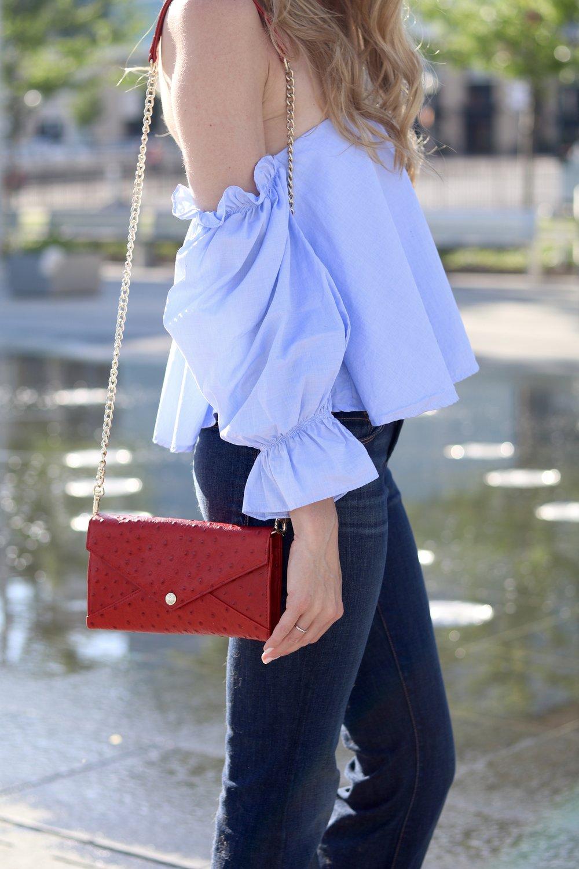 gilt edge | flared jeans