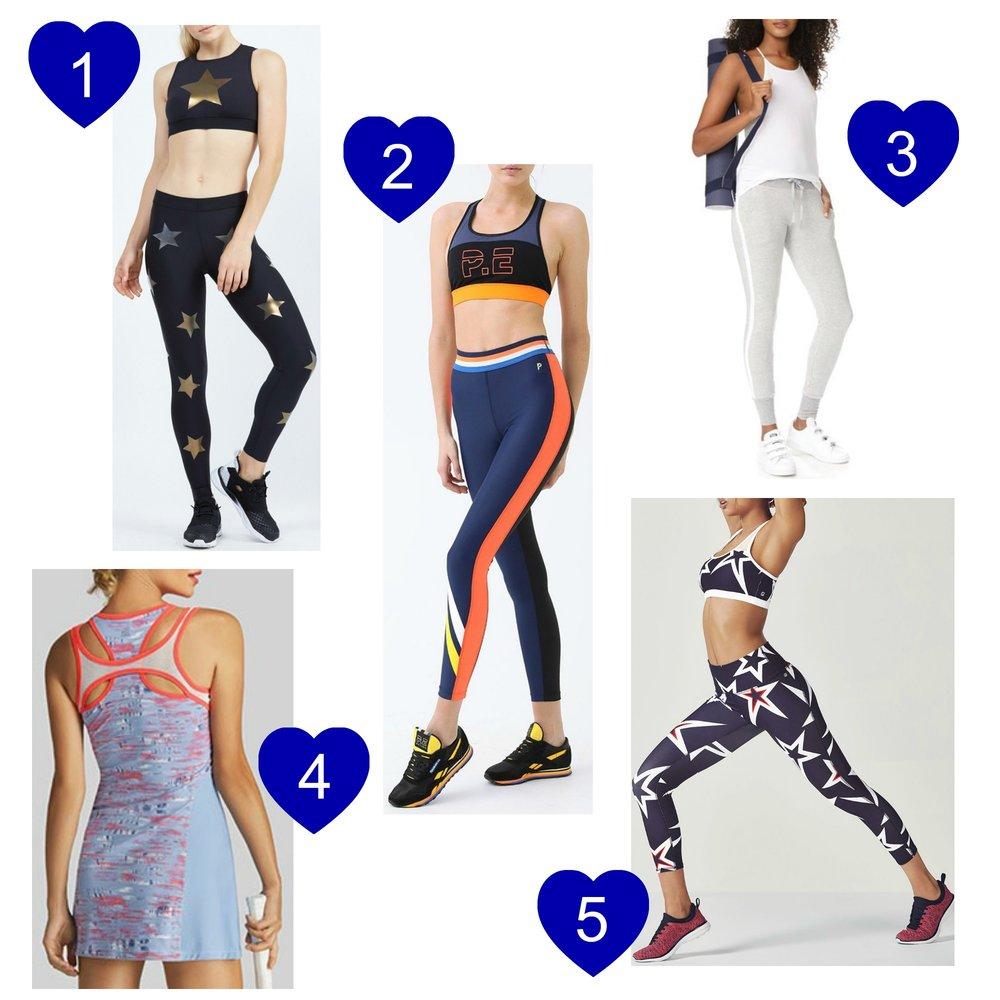 gilt edge | on trend | activewear