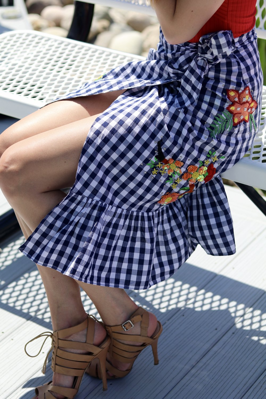 gilt edge   summer skirts