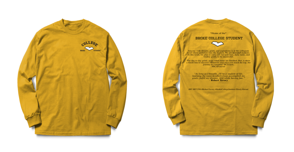 #BCSForever Long Sleeve Tee - mizzou Yellow psd.png